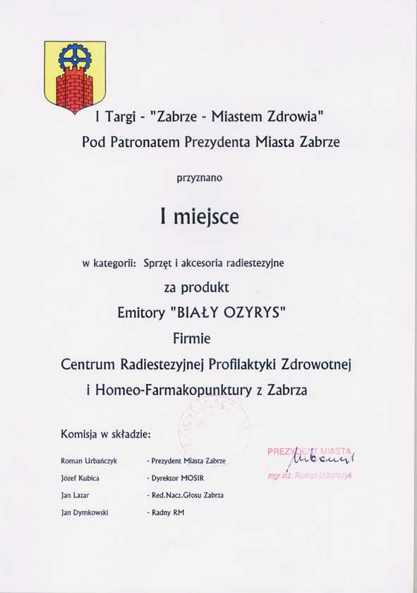 dyplom_1targi_zrze