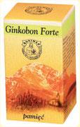 Preparaty ziołowe Ojca Grzegorza Sroki w kapsułkach – Ginkobon Forte – wzmacnia pamięć