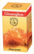Preparaty ziołowe Ojca Grzegorza Sroki w kapsułkach – Ginsengbon – poprawia wydolność organizmu