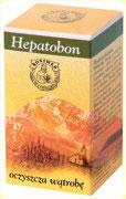 Preparaty ziołowe Ojca Grzegorza Sroki w kapsułkach – Hepatobon – oczyszcza wątrobę