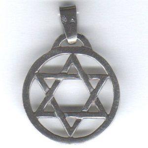 Heksagram srebro pr. 0925 ; 2,3 cm