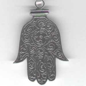 Dłoń Fatimy srebro pr. 0925
