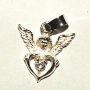 Anioł srebro Pr.0925 z cyrkonią