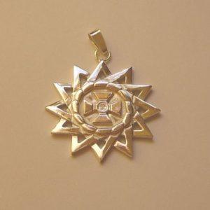 Gwiazda Arcygamy srebro pr. 0925 śr40mm