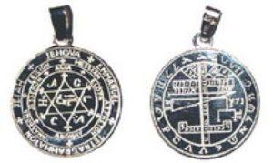 Pieczęć Salomona wisior srebro Pr.0925 śr30mm