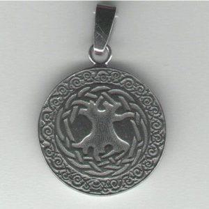 Drzewo Kosmiczne wisior srebro pr. 0925