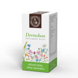 Preparaty ziołowe Ojca Grzegorza Sroki w kapsułkach – Dermobon – odżywia skórę i włosy