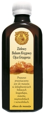 Preparaty ziołowe Ojca Grzegorza Sroki oliwa do masażu – Ziołowy Balsam Kręgowy